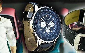 Automatické pánské hodinky Jaragar Tourbillon: Nadčasový módní doplněk!
