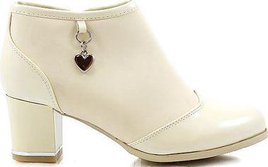 Kotníkové boty na podpatku