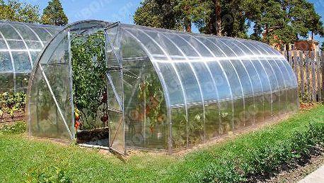 VOLYA LLC 2DUM 4 x 3m zahradní skleník z polykarbonátu