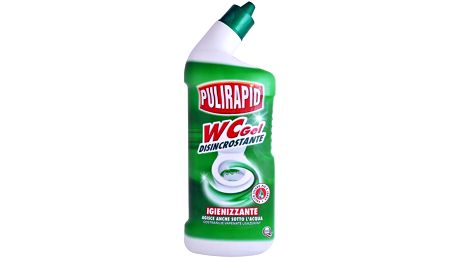 Pulirapid WC gel 750ml, čistič WC