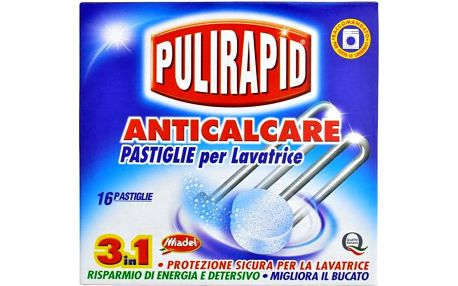 Pulirapid Anticalcare Tabs, 16 tablet