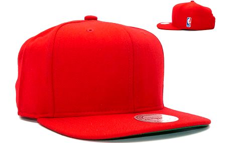 Kšiltovka Mitchell & Ness NBA Logoman Red Snapback