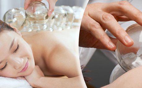 Terapeutická metoda - Zdravotní baňkování 30 min. Zbavte se díky baňkování neduhů ve Vašem těle!!