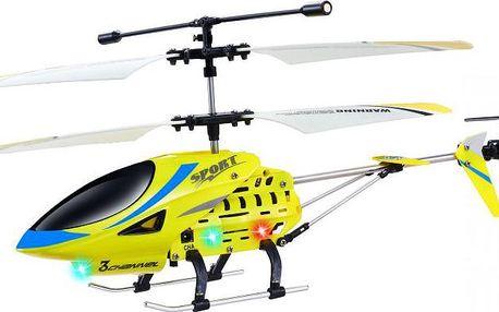 Fleg Helikoptéra Yellow GYRO na dálkové ovládání