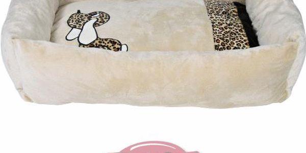 Trixie Plyšový pelíšek PEPITO 65x48x16 cm béžový