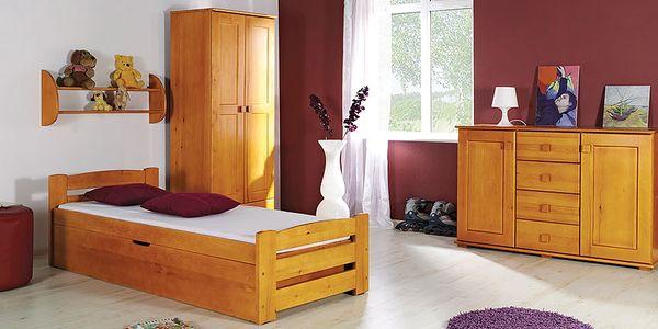 Dětský pokoj LINDA - bez matrace (DO2477) olše