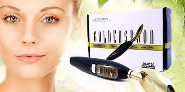 Kosmetika u vás doma: Galvanická žehlička Golden Spoon