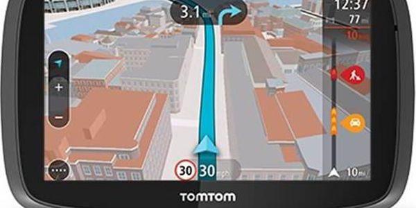 Tomtom GO 5100 World LIFETIME (1FL5.002.57) černá + Doprava zdarma