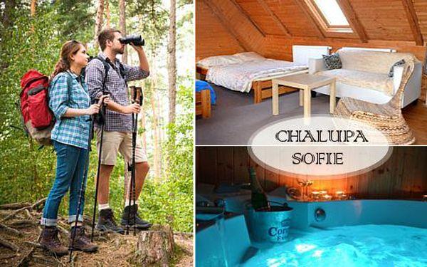 Relaxační pobyt na Vysočině s vířivkou, saunou a polopenzí pro 2 osoby