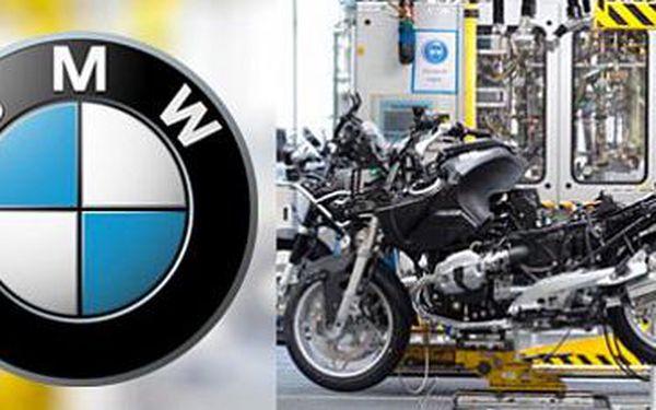 Výrobna motorek BMW v Berlíně: Celodenní výlet pro 1 osobu vč. vstupenky!