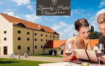 Romantická noc v Zámeckém Hotelu Ctěnice****