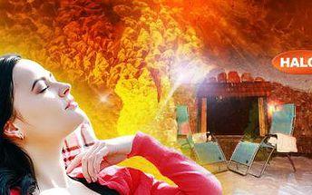 LÉČIVÁ SOLNÁ JESKYNĚ v centru Ostravy! Vstup na 45 minut pro 1 osobu a až 2 děti do 6 let!