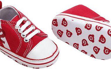 Červené capáčky - tkanička