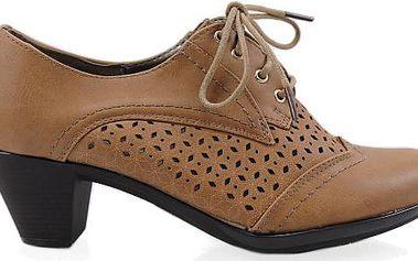 Boty na nízkém podpatku