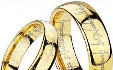 Legendární Prsten moci z filmu Pán prstenů!