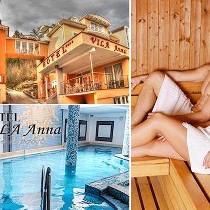 Léto v hotelu Vila Anna**** s wellness, polopenzí a možností procedur
