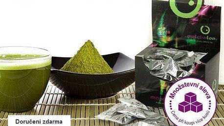 Čajová květina Matcha Tea