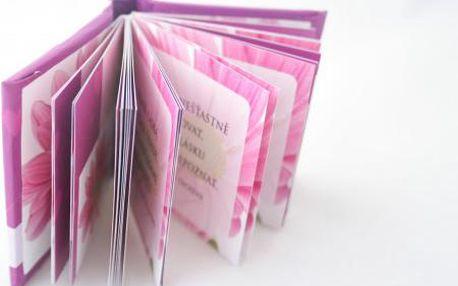Mini kniha lásky s citáty potěší každou romantickou duši!