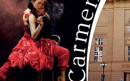 Carmen v divadle Hybernia v podání sólistů předních pražských operních a baletních scén.