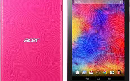 Dotykový tablet Acer Iconia One 8 (B1-810-10YD) růžový