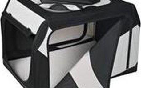 """Trixie Transportní nylonový box """"Vario 20"""" 61 cm černo-šedý"""