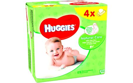 HUGGIES Natural Care Quatro Pack (64x4)