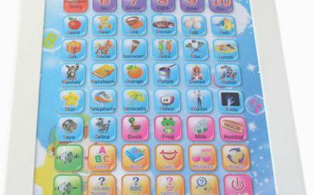 Dětský tablet - angličtina hrou pro děti od 3 let!