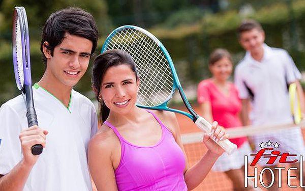 Letní tenisová akademie v Přerově s ubytováním v Hotelu FIT***