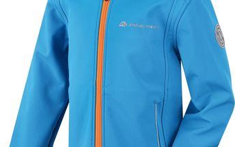 Chlapecká softshellová bunda LODALO - modrá