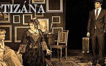 Vstupenka na divadelní představení Kurtizána