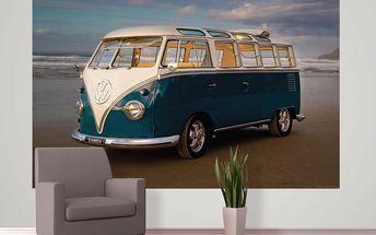 Tapeta Retro Volkswagen 158x232 cm