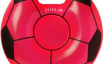 Nafukovací sedátko s motivem fotbalového míče