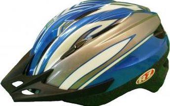 Cyklistická přilba Razier STRATOS modrá