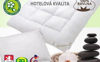 Hotelová ložní souprava Harmonie LUX celoroční Velikost: klasická, 135x200cm+70x90cm