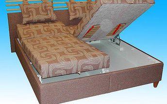 SCONTO MILÁNO Čalouněná postel