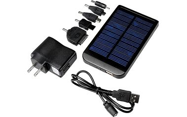 Externí solární nabíječka pro iPhone, Samsung, HTC a Nokii