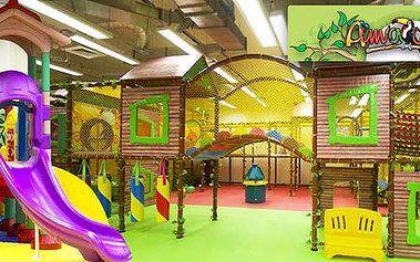 Vstupenky do dětského zábavního centra Amazonie