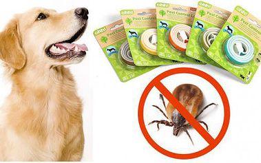 Repelentní obojek pro psy s olejíčky - zatočí s klíšťaty i blechami!