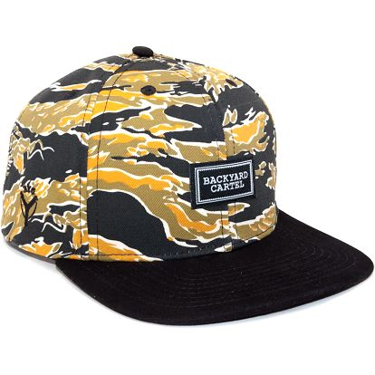 Kšiltovka Backyard Cartel Dragon Camo Snapback