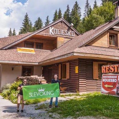 Nízké Tatry pro dva v horské chatě
