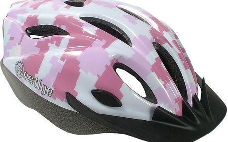 Juniorská cyklo helma Clown-Fish 4-18 let, bílá, M