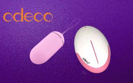 Bezdrátové vibrační vajíčko Odeco