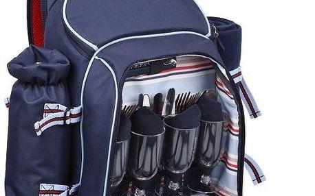 Piknikový batoh Summerhouse Coastal, pro 4 osoby - doprava zdarma!