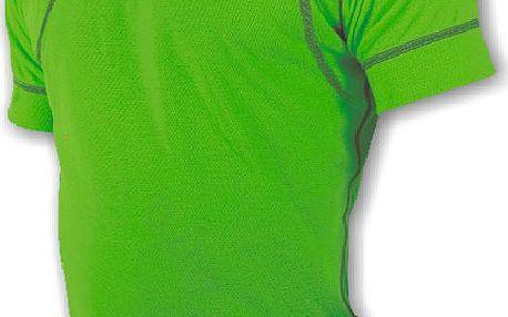 Sensor Doubleface EVO tričko s krátkým rukávem zelená M