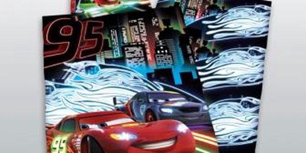 Povlečení Cars Neon 140x200,70x90