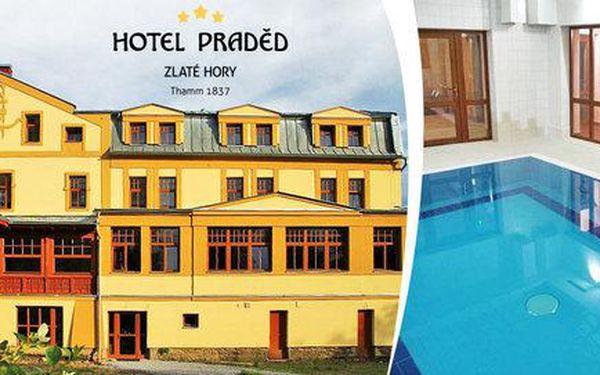 Pobyt s polopenzí i wellness v hotelu Praděd