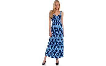 Originální dámské šaty od exkluzivní značky Chaps z portfolia skupiny Ralph Lauren Chaps WCA25CAP21 S modrá