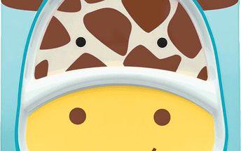 SkipHop Zoo Talířek 2v1 - Žirafa
