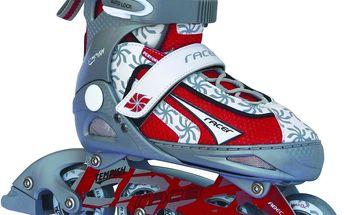 TEMPISH Racer červené vel. S (31-34) dětské kolečkové brusle