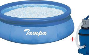 Marimex Bazén Tampa 3,66x0,91 m s pískovou filtrací ProStar 2 - 10340132 + doprava ZDARMA